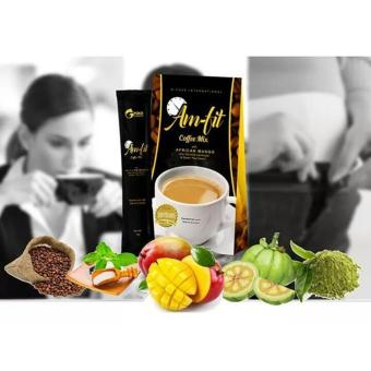 Harga Weight Loss Am-Fit Coffee Mix w/ Garcinia Cambogia and African Mango (Lot of 3)
