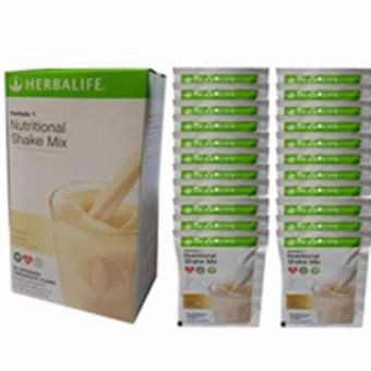 Herbalife Nutritional Shake French Vanilla Sachets Price Philippines