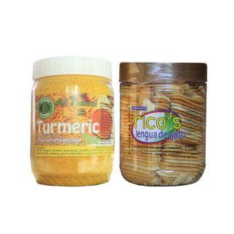 All Natural Turmeric Tea 16 in 1 Bottle 400g Bundled with Baguio Ricos Lengua Price Philippines