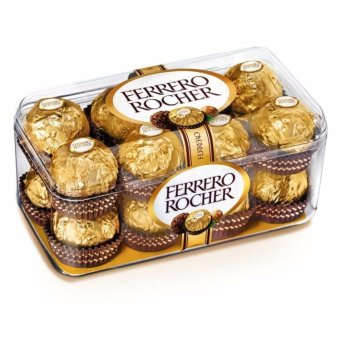 Harga Ferrero Rocher 16pcs Box Shape
