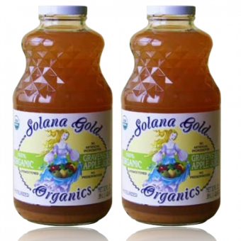Harga Solana Gold Autumn Harvest Organic Apple Juice 32oz Set of 2