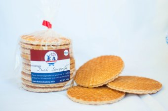 6 packs of Handmade Dutch Stroopwafel (10 pieces per pack) Price Philippines
