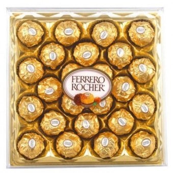 Harga Ferrero Rocher 24 pcs Box Shape