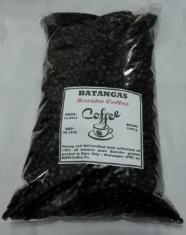 Harga Kitts Coffee Batangas Barako Beans Coffee 1000g