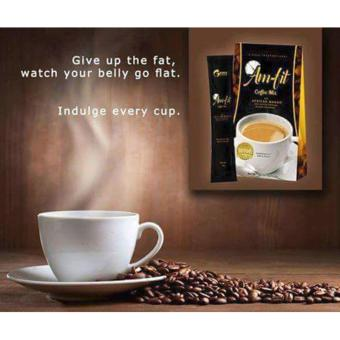 Harga Slimming Coffee Am-Fit Coffee Mix w/ Garcinia Cambogia and African Mango