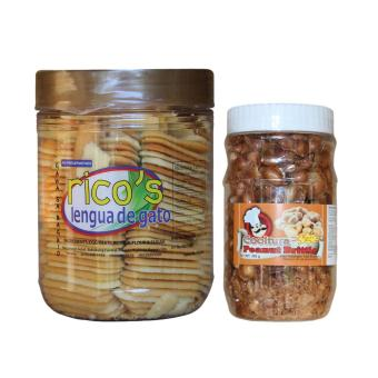 Baguio Ricos Lengua Bundled with Cooltura Peanut Brittle Price Philippines