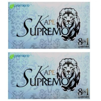 JC Premiere Kape Supremo 7.5g Sachet Box of 20 Set of 2 Price Philippines