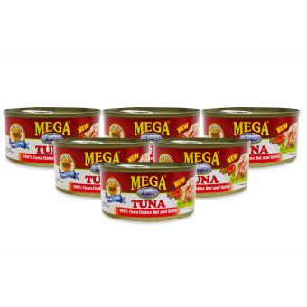 Harga Mega Tuna Flakes Hot & Spicy 180g 721016 6's