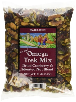 Harga Trader Joe's Omega Trek Mix with Fortified Cranberries 12 oz