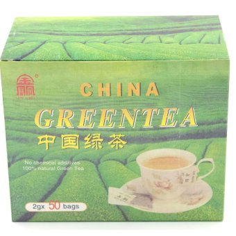 Jin Ling China Green Tea (100g) Price Philippines