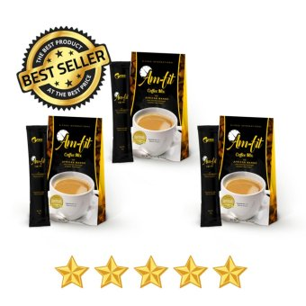 Harga Am-Fit Coffee Mix w/ Garcinia Cambogia and African Mango (Boxes of 3)