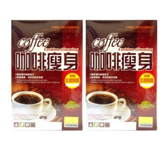 Harga Coffee Fashion Slimming 10g (19 sachets), Set of 2