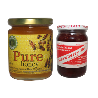 Natural Pure Raw Honey Bundle With Good Shepherd Strawberry Jam 8oz Price Philippines
