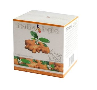 Harga Healthy Tropics Tsaang Gubat & Ginger Hot Tea