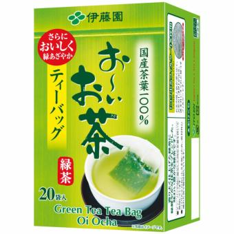 ITO EN GREEN TEA BAG OI OCHA 20 TEABAGS PER BOX Price Philippines
