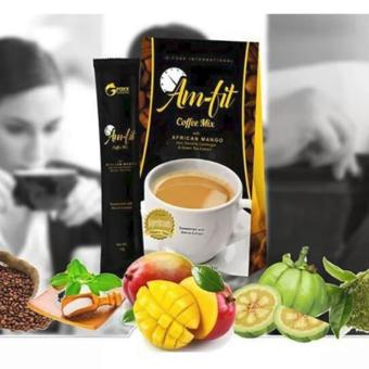 Harga Fast Slimming Coffee AM-FIT w/ Garcinia Cambogia and African Mango