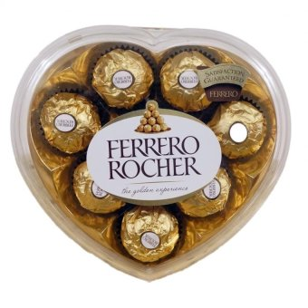 Harga Ferrero Rocher 8pcs (Heart Shape)