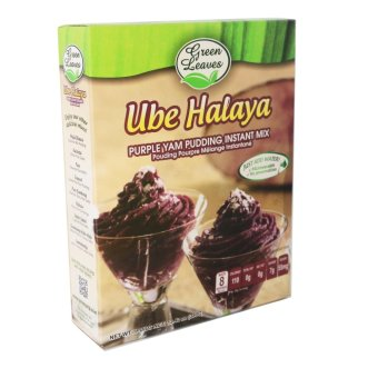 Harga Green Leaves Purple Yam and Coconut Instant Dessert- Ube Halaya Pudding Instant Mix 380g