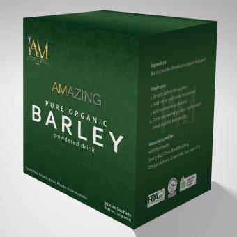 Harga Amazing Organic Pure Barley (Powdered Drink)