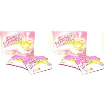 Harga Pearl Slimming Milk Tea with Whitening 12s Set of 2