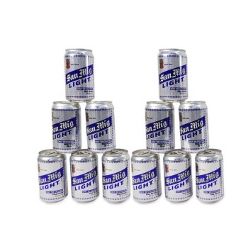 Harga San Miguel Light Can 330 ML 12'S,745046