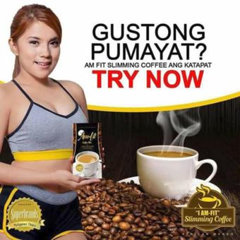Harga Weight Loss Am-Fit Coffee Mix w/ Garcinia Cambogia and African Mango