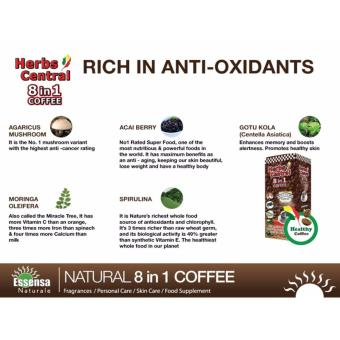 Essensa Naturale- Herbs Central 8 in 1 Coffee Price Philippines