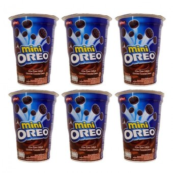 Oreo Mini Pack Cup Chocolate Flavored Cream 67g Set of 6 Price Philippines