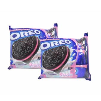 Oreo Strawberry Cream 9 Packs x 29.4g (264.6g) Set of 2 w35 103098 Price Philippines