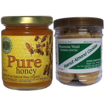 Natural Pure Raw Honey Bundle With Good Shepherd Peanut Almond Cookies Price Philippines