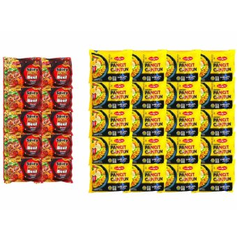 Harga Lucky me pancit cantoon original 60g 20'S / Lucky me Noodles Spicy beef 50g 10'S W25272097 30'S