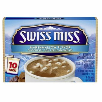 Harga SWISS MISS Marshmallow Flavor Chocolate Con Leche Masmelos 280grams (10 PACK)