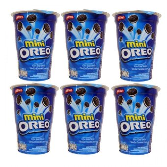 Oreo Mini Pack Cup Vanilla Flavored Cream 67g Set of 6 Price Philippines