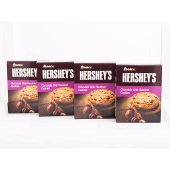 Julie's Hershey's Chocolate Chip Hazelnut Cookies 4 pack