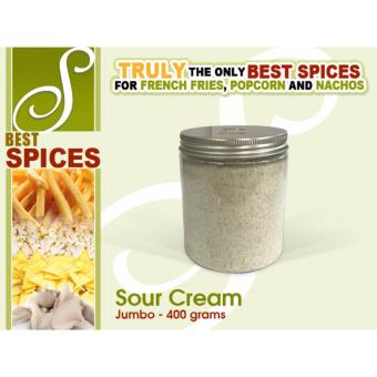 Jumbo Sour Cream Best Spices Flavor powder French Fries popcornnachos flavorings 400grams seasoning