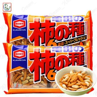 Kameda Crisps Kakinotane Mild Sweet Rice Crackers Super FreshKameda Kakinotane 200g/pack 33g per piece (Rice Crisps) Set of 2
