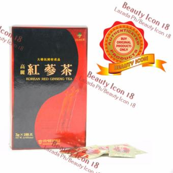 Korean Red Ginseng Tea 3g sachet of 100