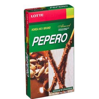 Lotte Pepero Almond Chocolate 32g x 8 packs