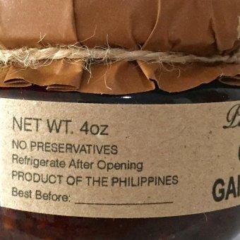 Native Gourmet Chili Garlic Oil 4oz - 3