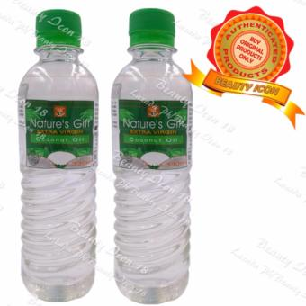 Nature's Gift Extra Virgin Coconut Oil 330ml Set of 2s Price Philippines