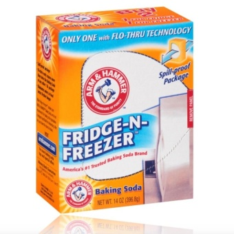 Nestle Blue Lemonade & Lychee Pink Lemonade Fruit Drink MixWith Free Arm & Hammer Fridge-N-Freezer Baking Soda 14Oz(396.8G) - 2