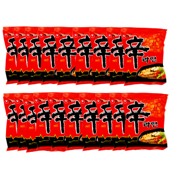 Nongshim Shin Ramen 120g Set of 19