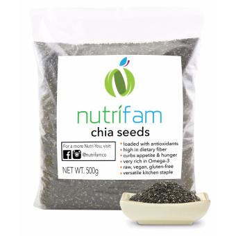 nutriFAM USA Chia Seeds 500g
