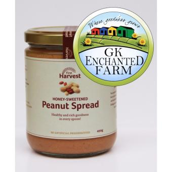 PEANUT SPREAD 450g from First Harvest | Local Ingredients | GawadKalinga Enchanted Farm