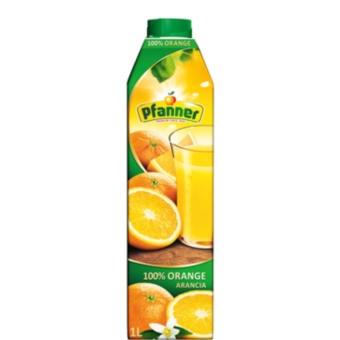 Pfanner Orange Juice 100% 1L