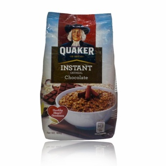 Quaker Instant Oatmeal Chocolate 400g Price Philippines