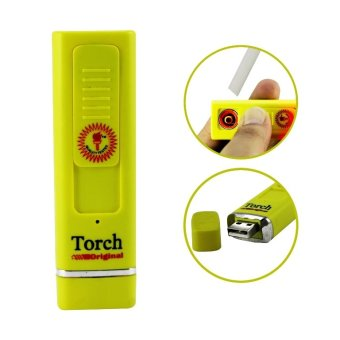 Rechargeable Torch Lighter - Yellow - picture 2