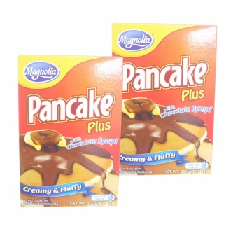 Red Magnolia Pancake Plus w/ Chocolate Syrup 200g 2's 230364 w51(MP)