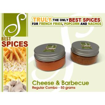 Regular Combo Cheese and Barbecue Best Spices Flavor powder FrenchFries popcorn nachos flavorings 50grams seasoning