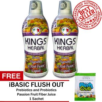 REH Kings Herbal (2 Bottles) with FREE Flush Out Colon Cleanse
